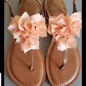 Fergielicious Floral Sandals